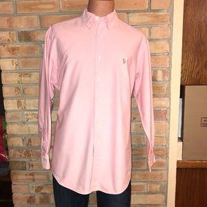 RALPH LAUREN POLO YARMOUTH OXFORD DRESS SHIRT XL